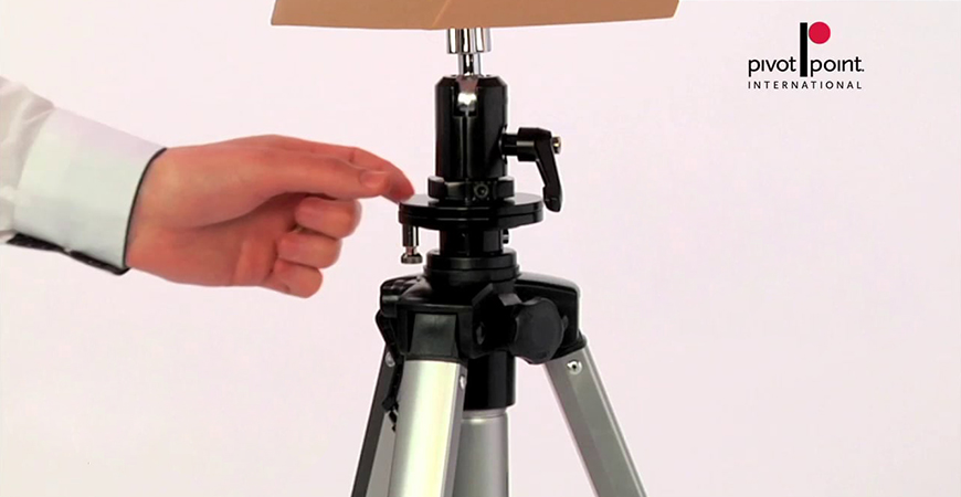 Spin and display hair designs with new universal tripod with swivel base and mannequin holder